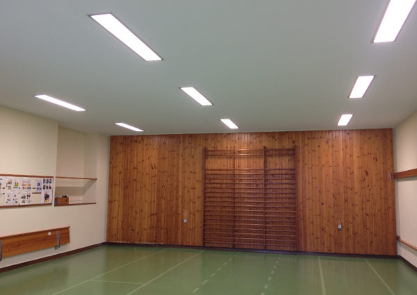 Plafond-tendu cours collectifs salle de sport