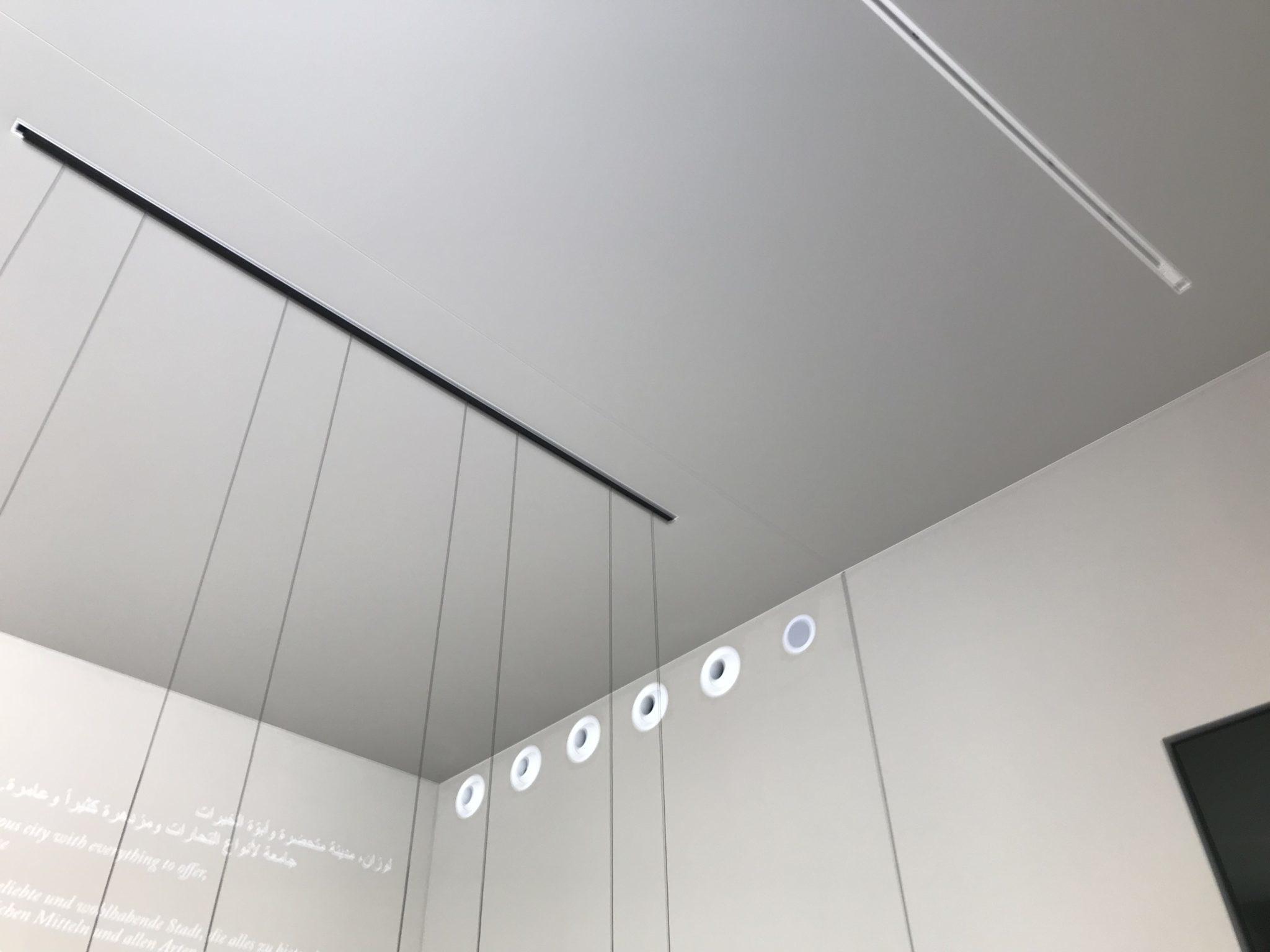 Toile À Enduire Plafond abrium | plafond toile tendu